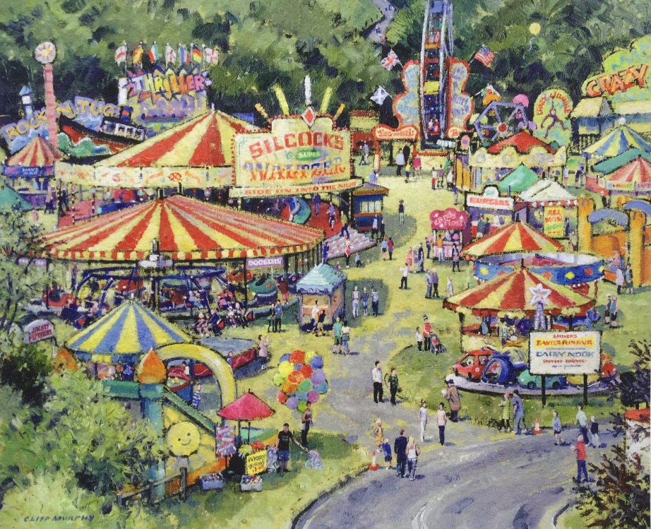 Daisy Nook Easter Fair  by Cliff Murphy, Nostalgic | Northern | Local