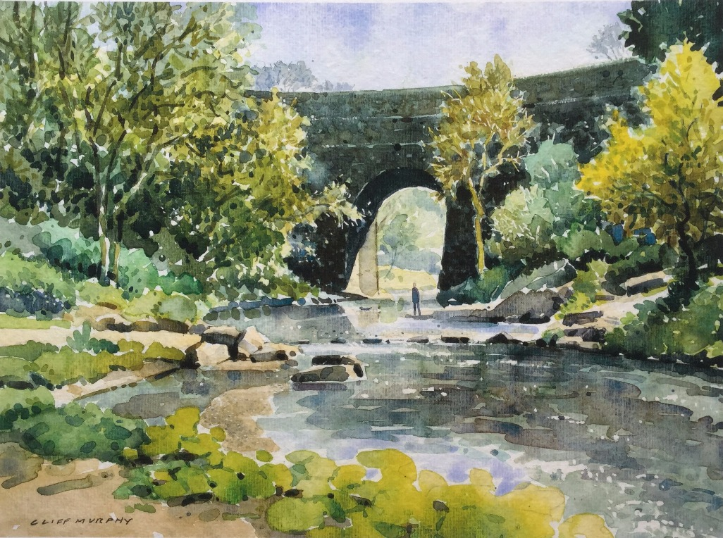 The Daisy Nook Aqueduct by Cliff Murphy, Local | Nostalgic | Northern | Water
