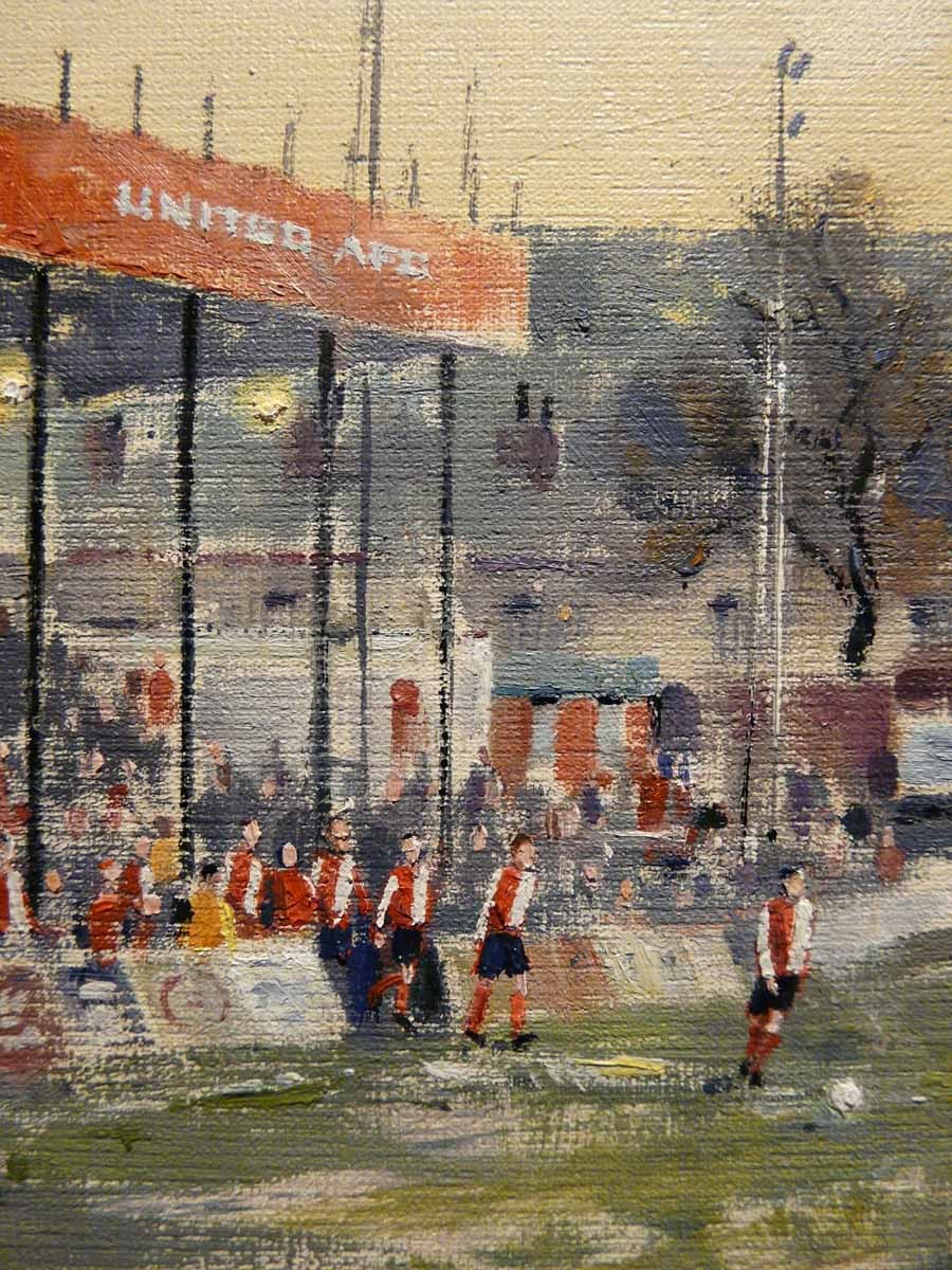 United (Hurst Cross, Ashton) by Cliff Murphy, Football | Local | Northern