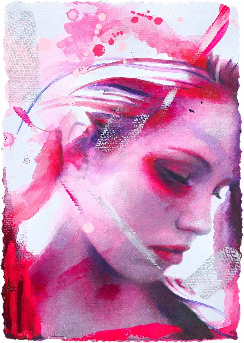 Heart by Emma Grzonkowski, Figurative | Special Offer