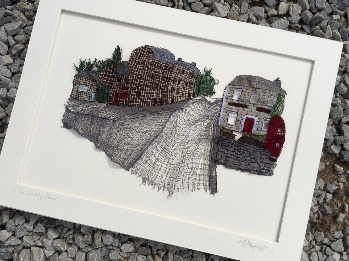 Chew Valley Road (Greenfield) by Hayley Murphy, Textile | Local | Northern