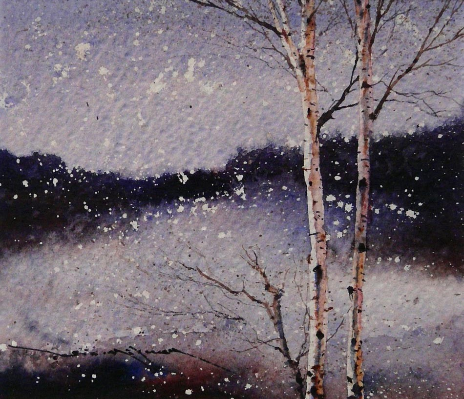 Snow Flurry by Ged Mitchell, Landscape | Snow | Special Offer