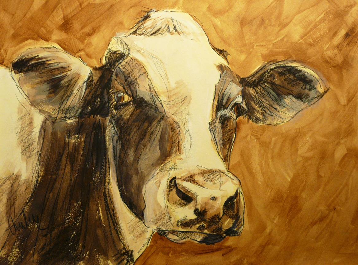 I Understand by Thuline, Cow | Animals | Humour