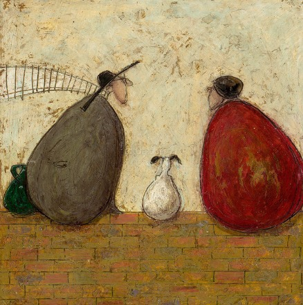 More than words can say by Sam Toft, Couple | Love | Romance | Dog | Nostalgic