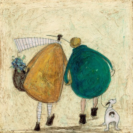 These Days are Ours by Sam Toft, Couple | Love | Romance | Nostalgic | Dog