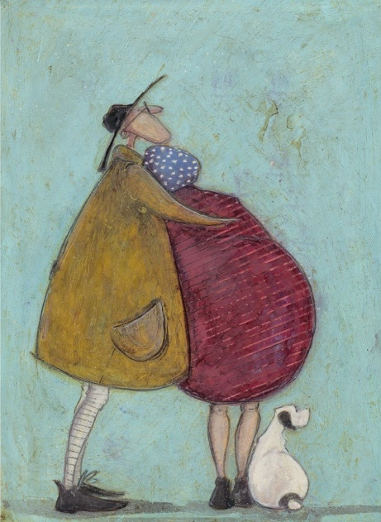 Together for a Long Long Time by Sam Toft, Love | Romance | Dog