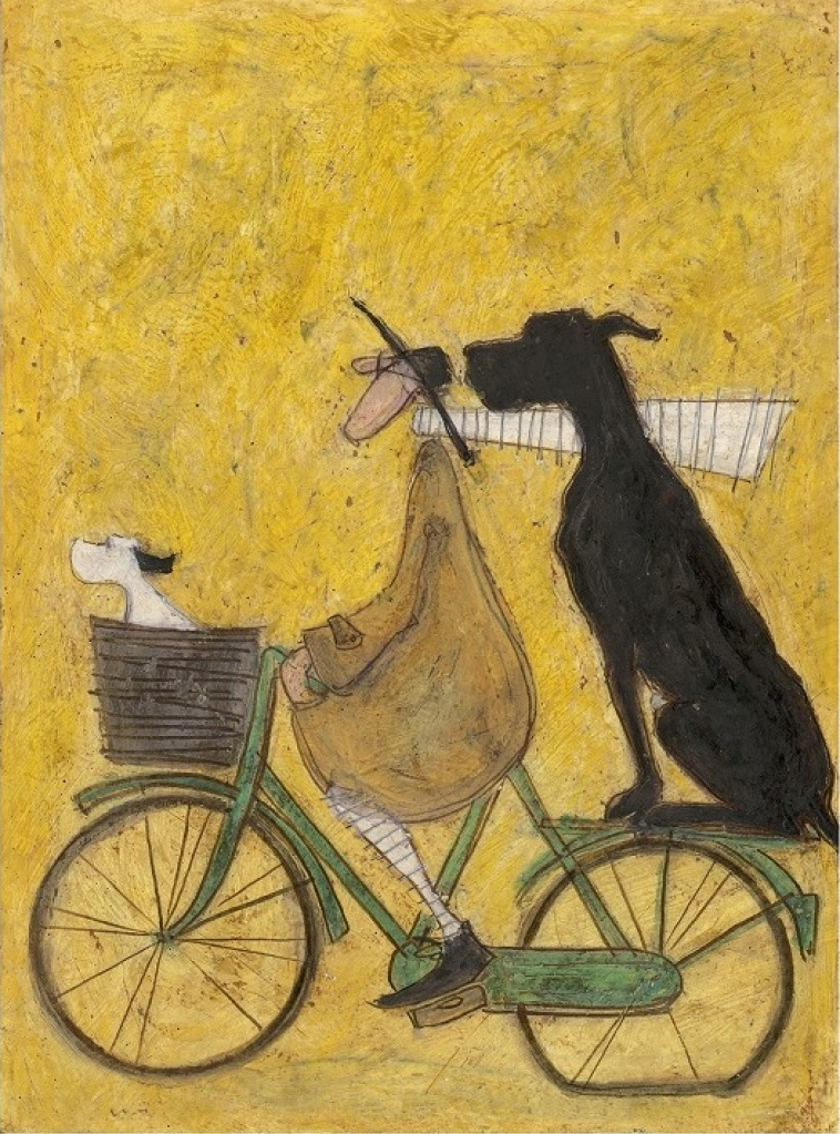 A Lift for Big John by Sam Toft, Dog