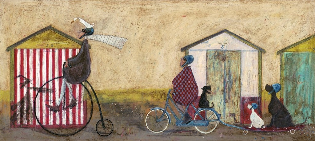 Test Drive by Sam Toft, Dog | Animals | Transport | Family