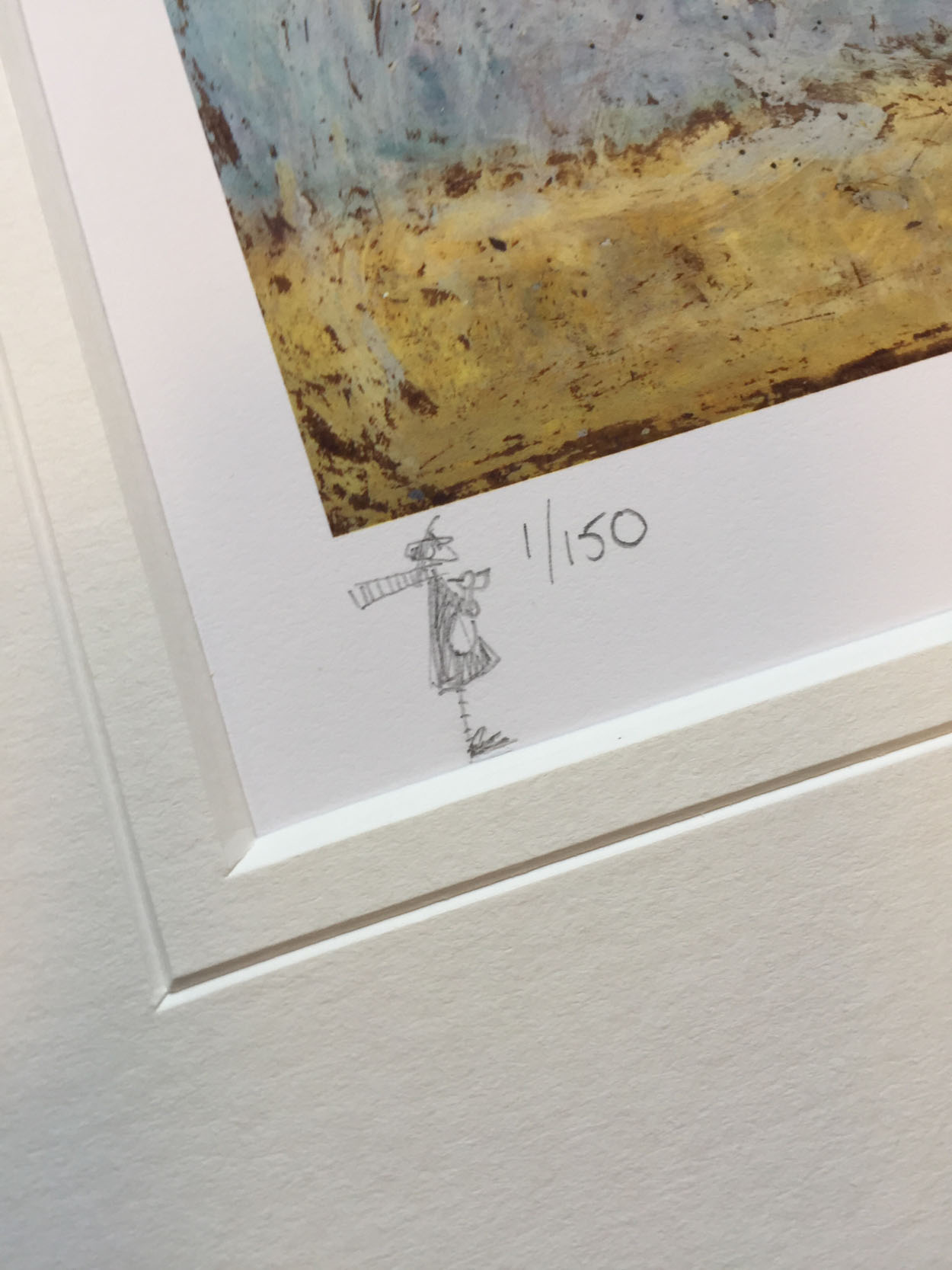 Nice View That (Remarque) (1/150) by Sam Toft, Rare | Dog | Animals | Figurative | Humour