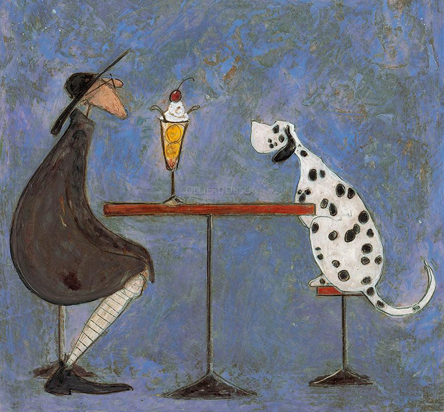 A Date with Hattie by Sam Toft, Dog | Figurative