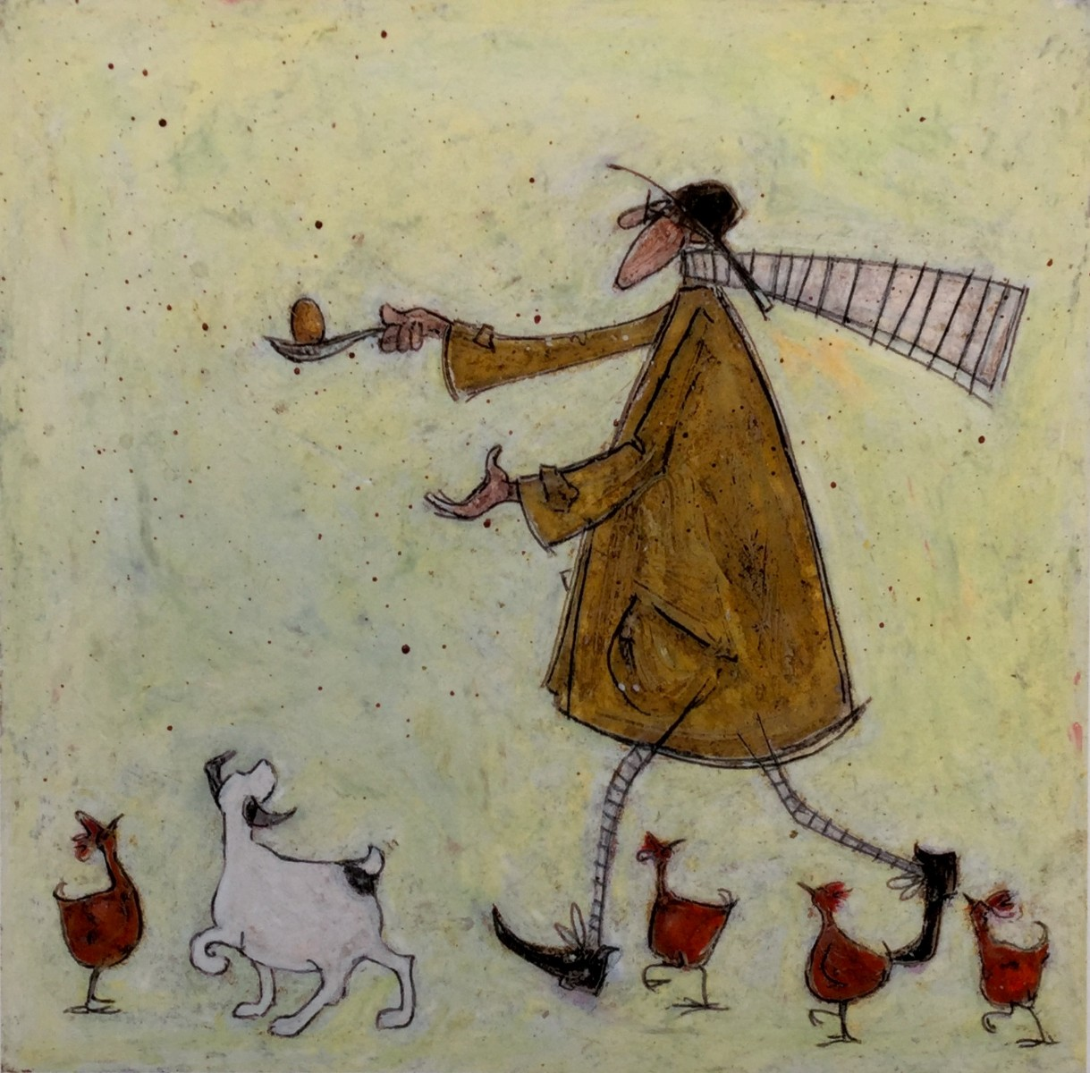 Egg and Spoon by Sam Toft, Bird | Dog