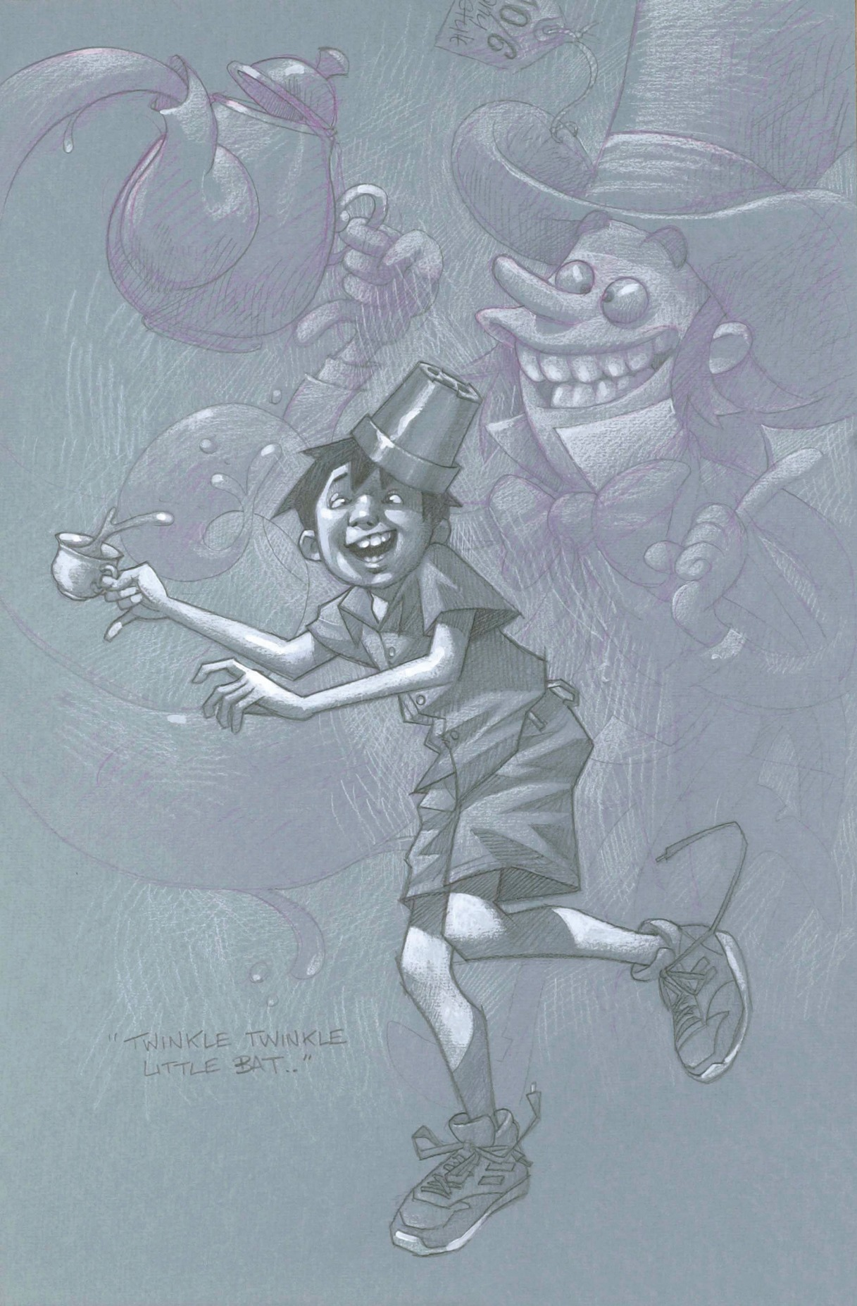 Twinkle, Twinkle, Little Bat.... by Craig Davison, Nostalgic | Humour | Children | Film | Comic