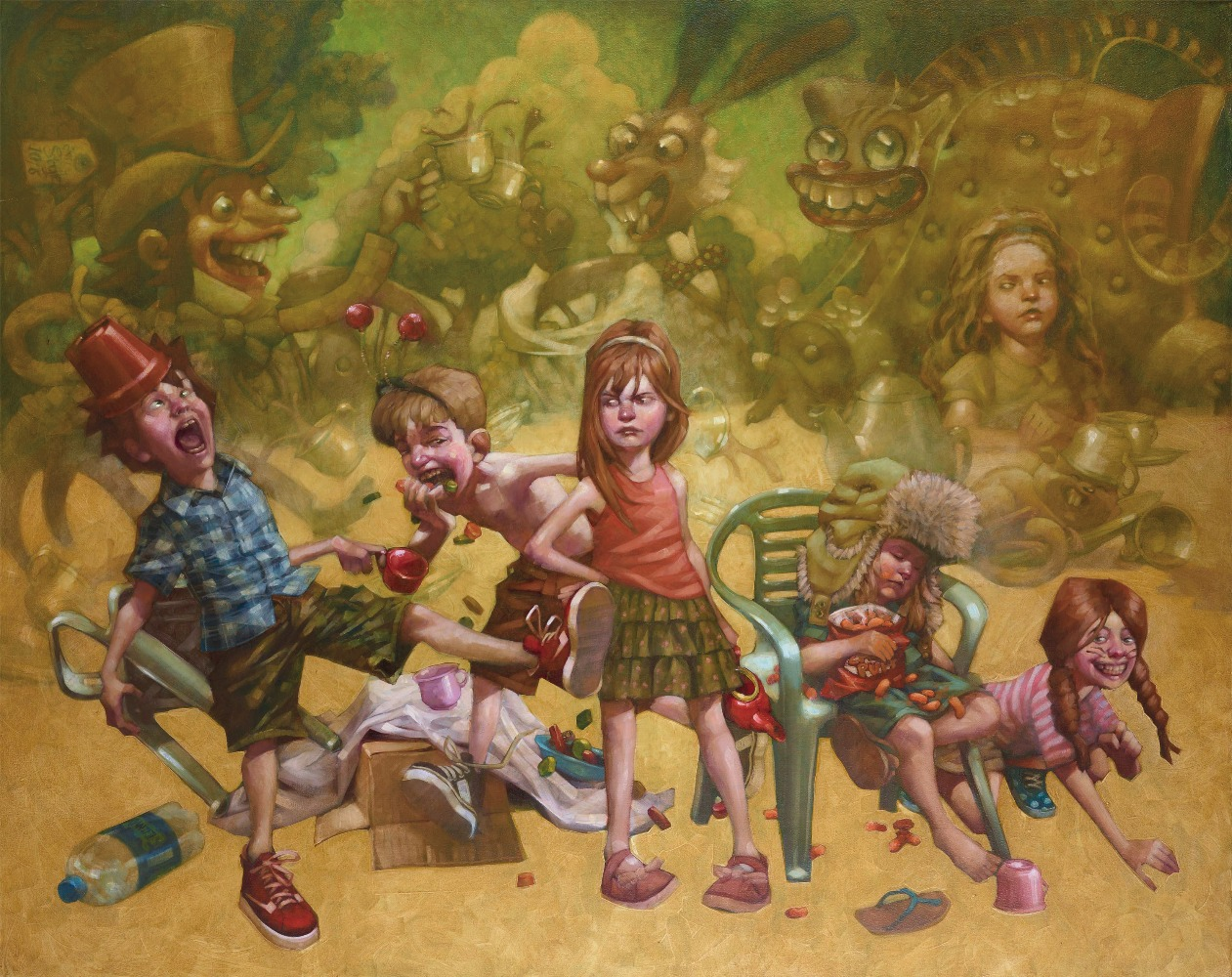 We're All Mad Here, I'm Mad, You're Mad by Craig Davison, Film | Comic | Humour | Children | Nostalgic