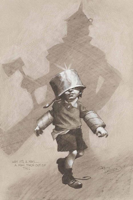 Wizard of Oz Set of Five by Craig Davison, Children | Nostalgic | Film