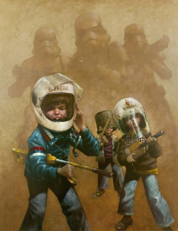 Star Wars - Full Set of VIII by Craig Davison, Children | Film | Nostalgic | Rare | Special Offer