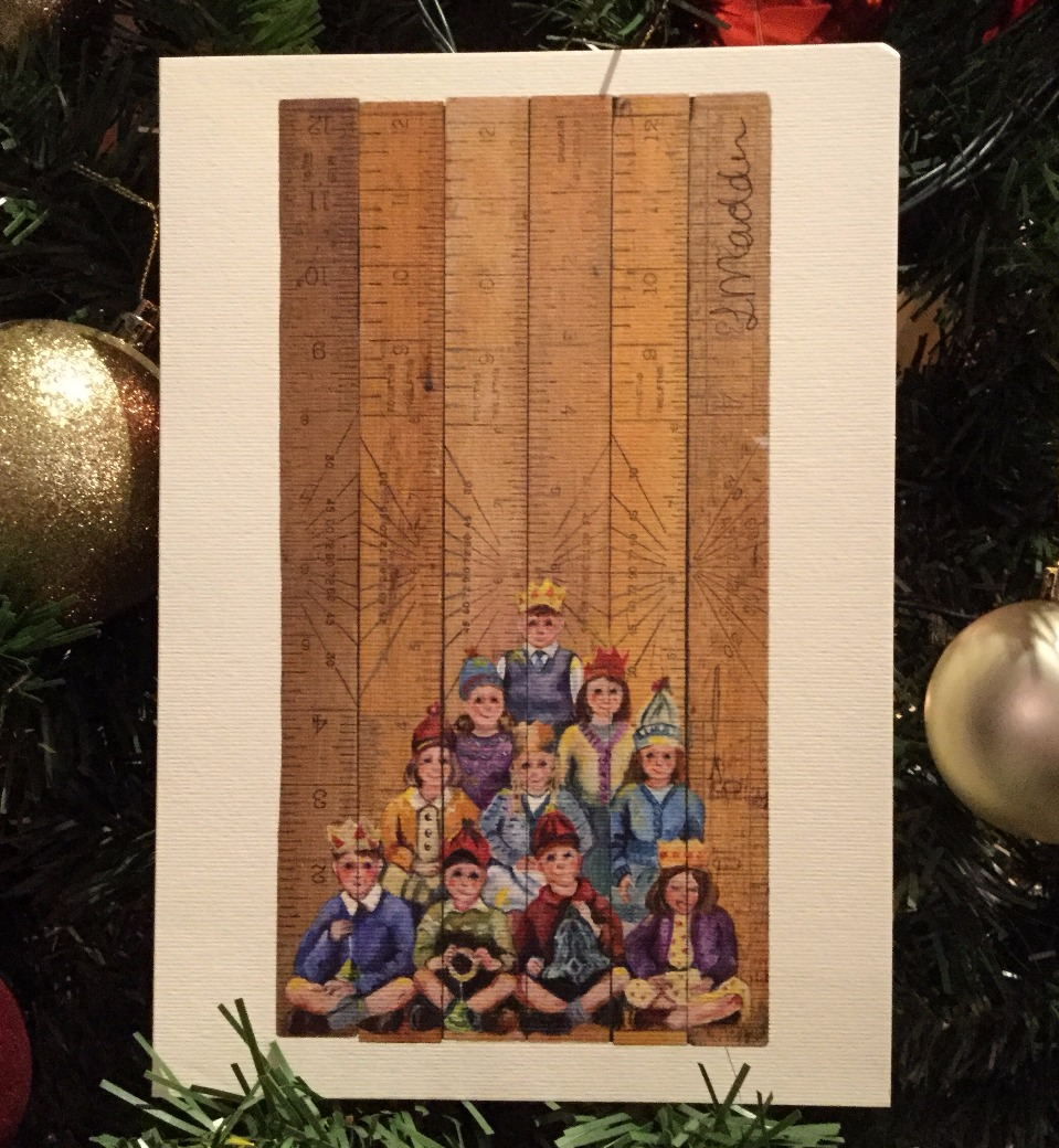 Top of the Tree by Lindsay Madden, Cards