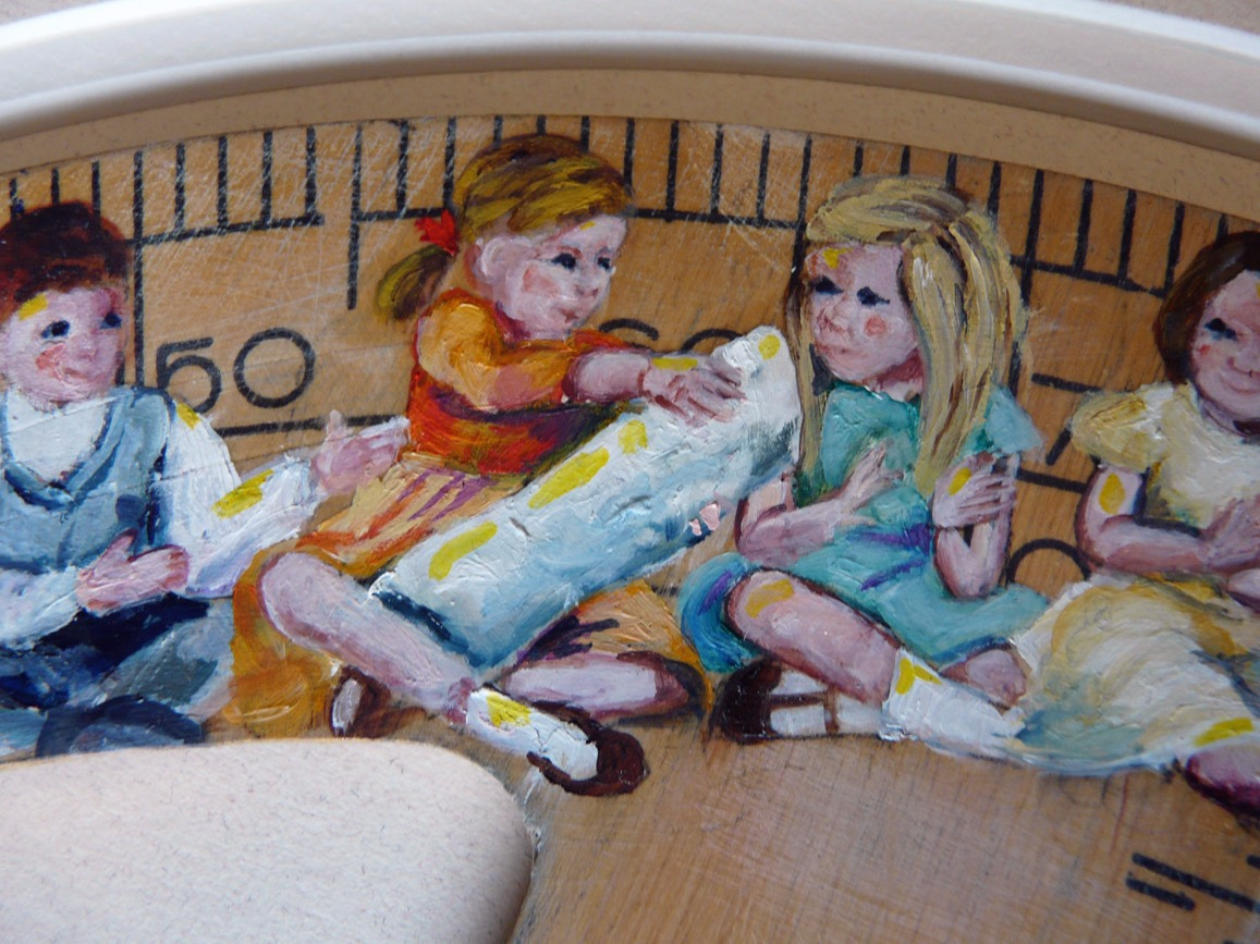 Round in Circles by Lindsay Madden, Children | Family | Nostalgic | Figurative | 3D