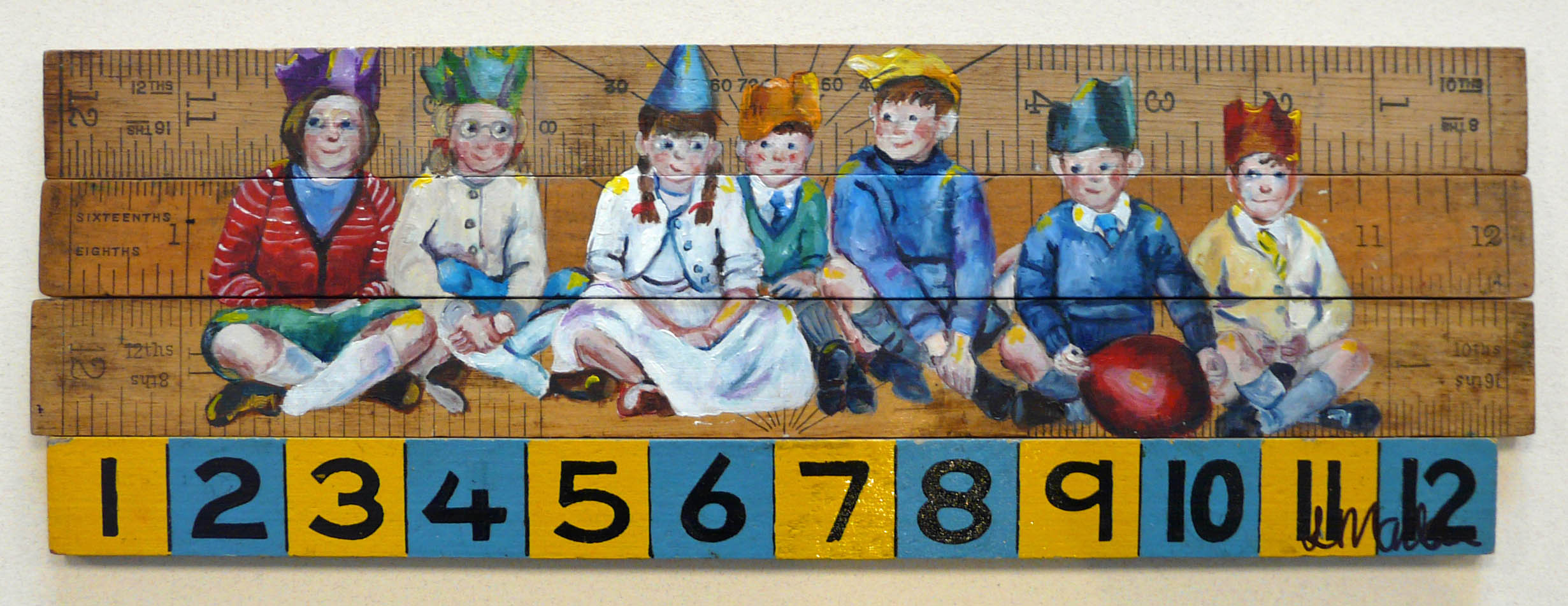 Party Line by Lindsay Madden, Children | Figurative | Nostalgic
