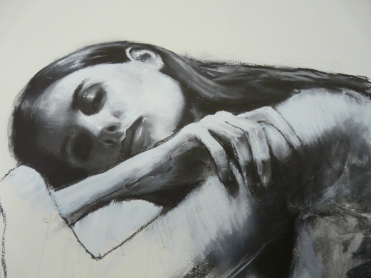 Georgina by Mark Demsteader, Figurative | Abstract