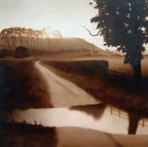 The Ford by John Waterhouse, Landscape | Water