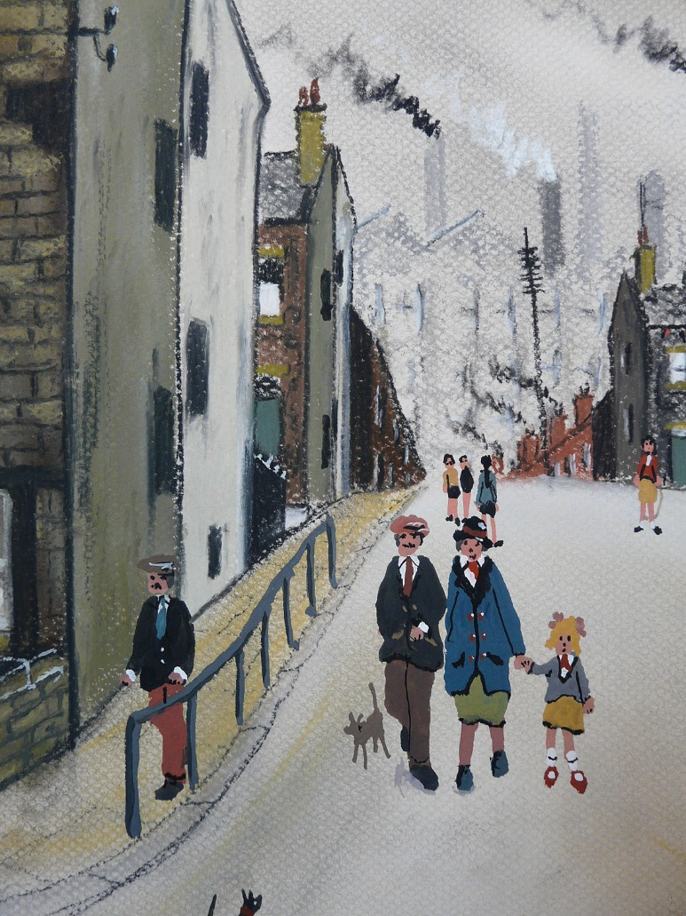 Street Scene by Allen Tortice, Children | Family | Industrial | Northern | Nostalgic | Rare | Customer Sale