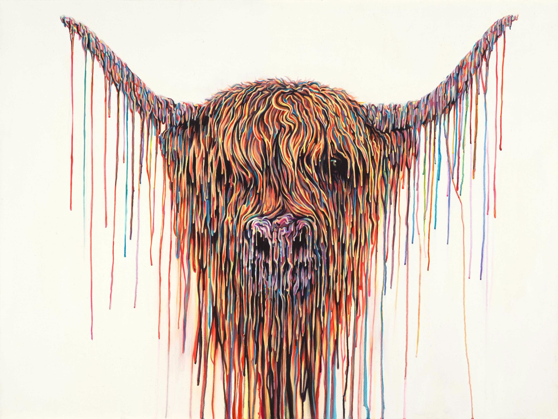 Bos Taurus by Robert Oxley, Abstract | Animals