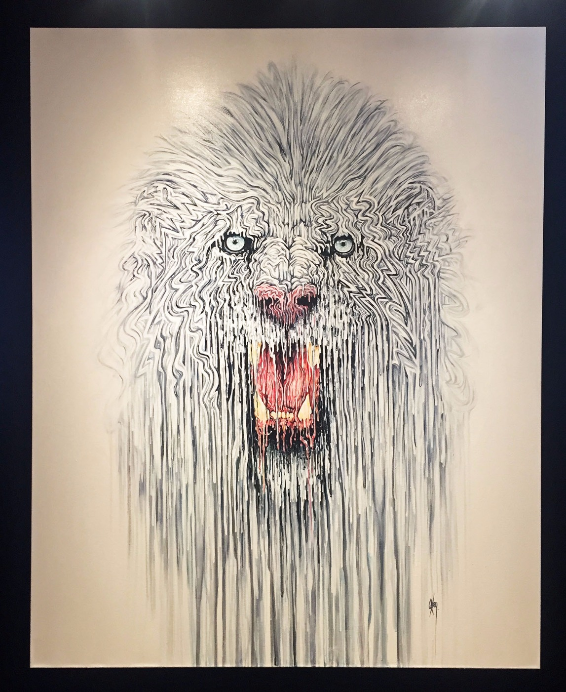 Ghost by Robert Oxley, Animals | Abstract