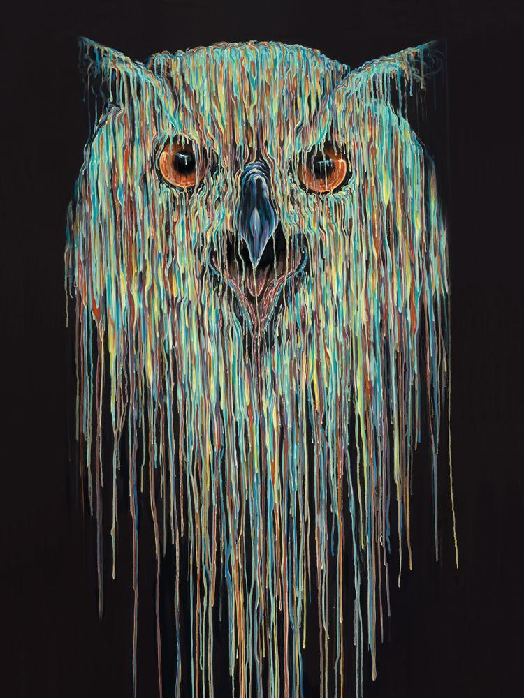 Blythe by Robert Oxley, Abstract | Animals | Owl