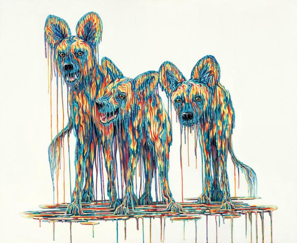 The Inquisitors by Robert Oxley, Abstract | Animals