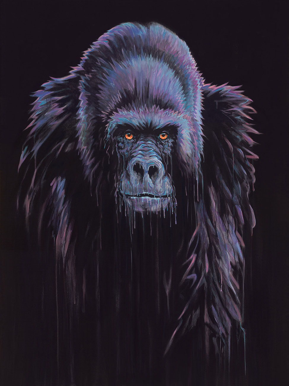 Harambe by Robert Oxley, Animals | Abstract | Gorilla