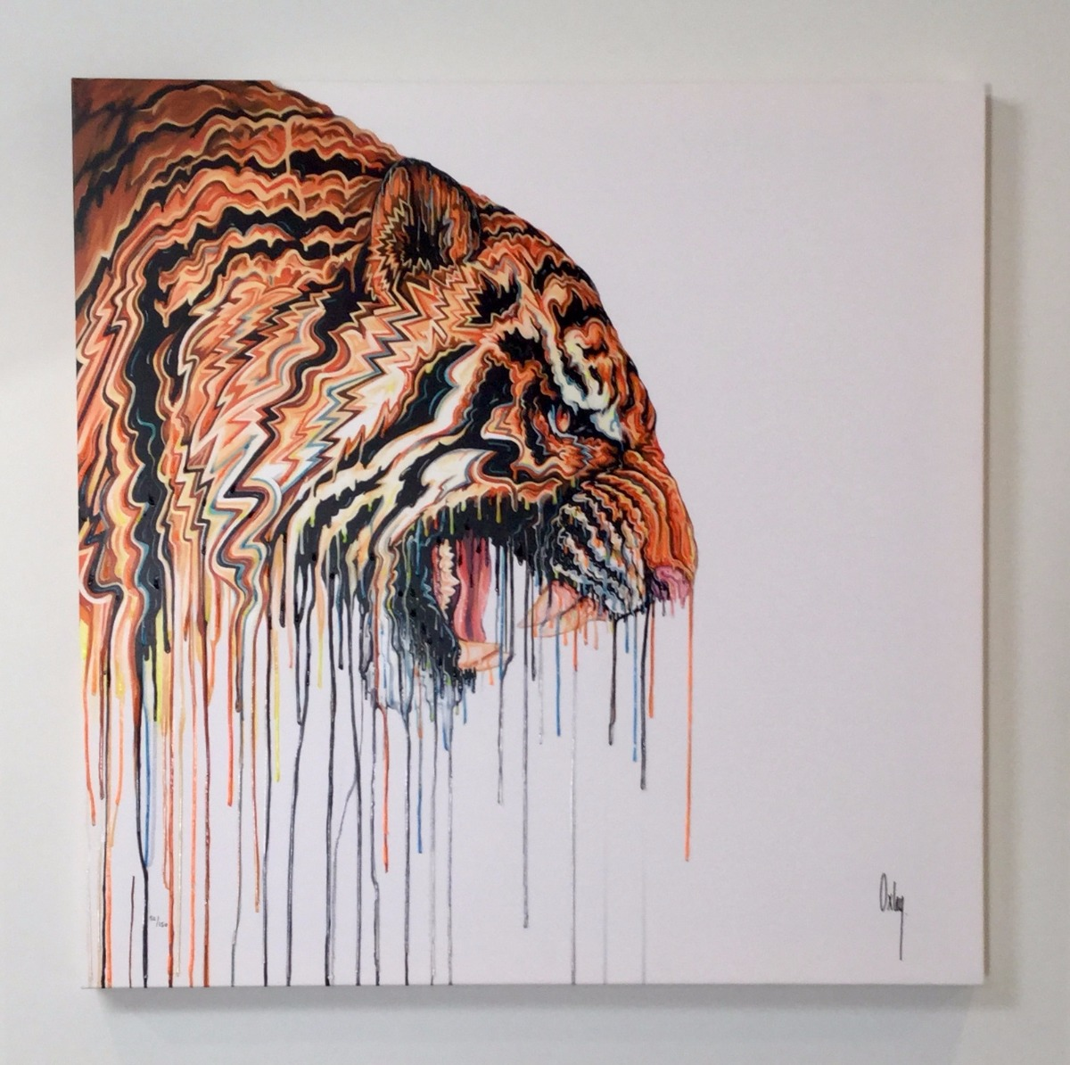 Ranthambore II by Robert Oxley, Abstract | Animals | Tiger