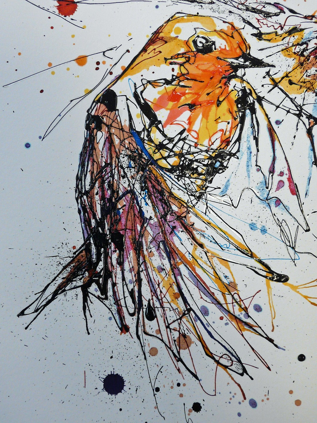 Defender by Kathryn Callaghan, Abstract | Bird | Animals