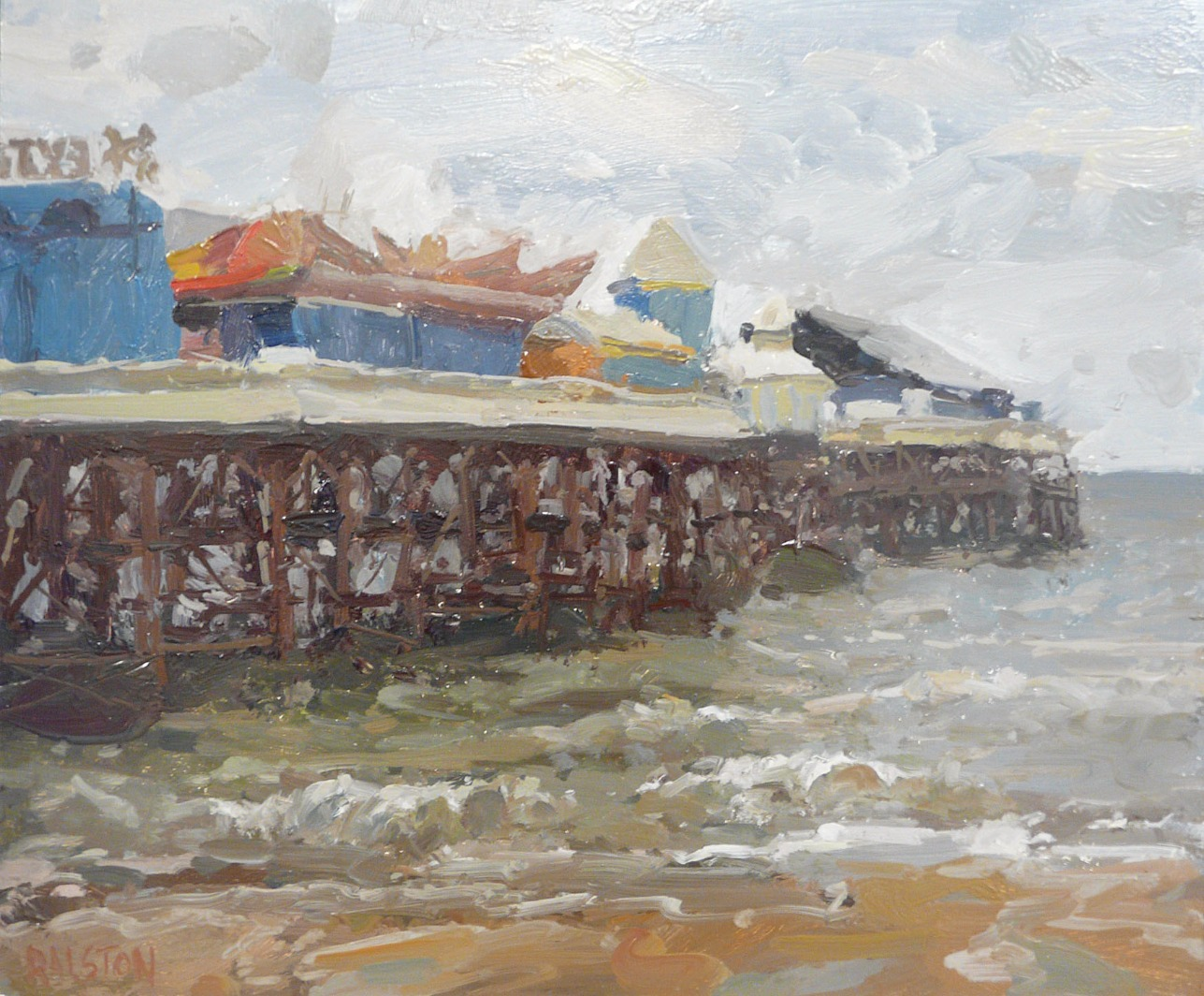 Central Pier, North Side by Adam Ralston, Sea | Northern | Nostalgic | Family