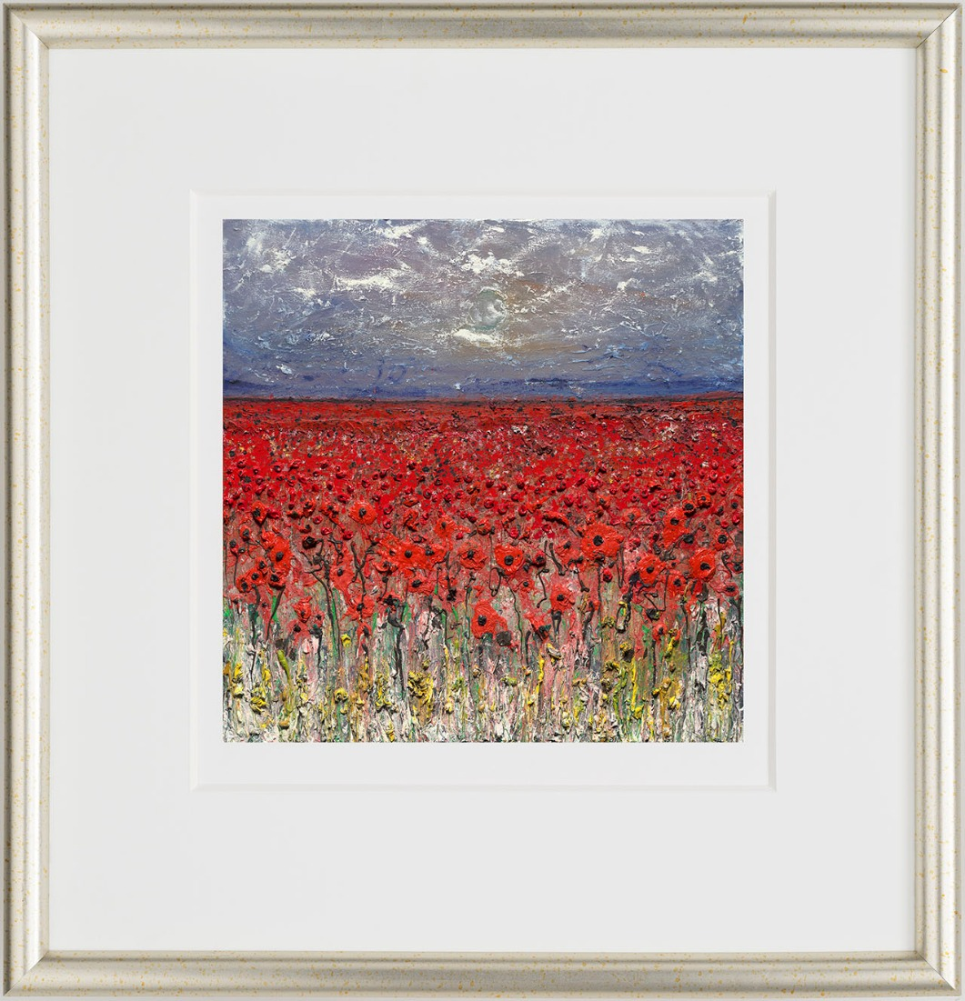 The Danger Tree I (Set of 10) by Scarlett Raven, Flowers | Nostalgic | Landscape