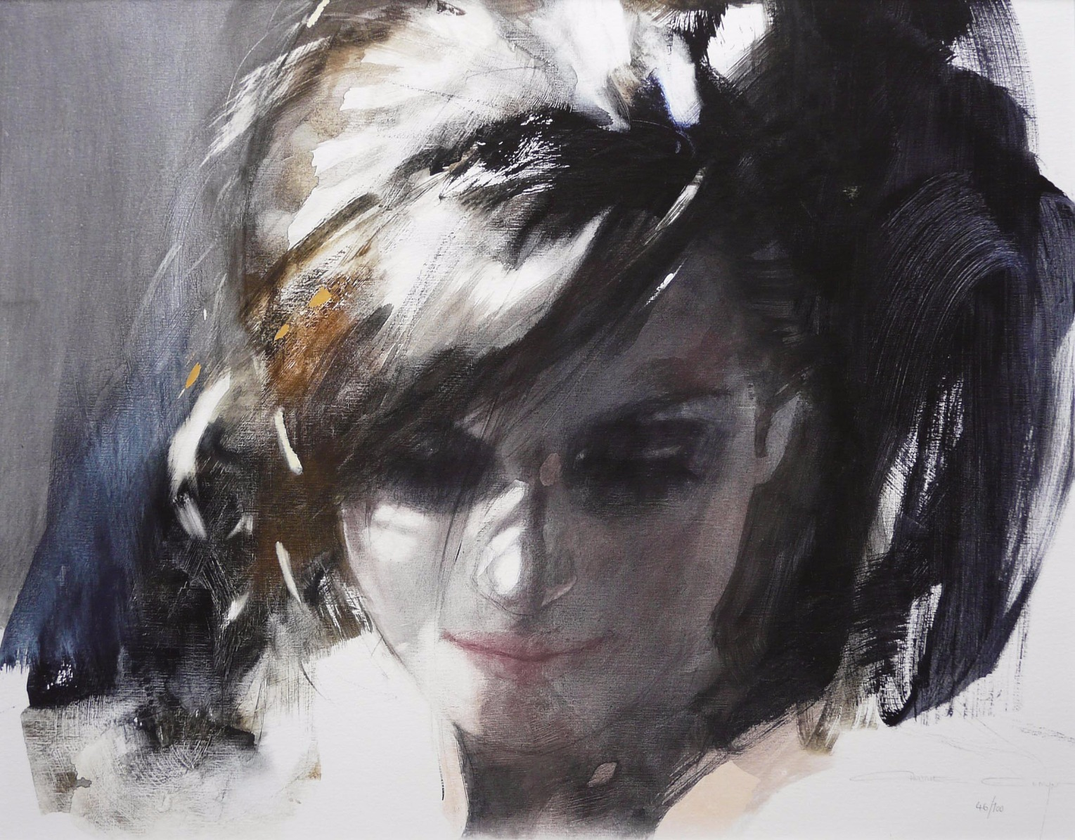 Yearning by Christine Comyn, Figurative | Portrait