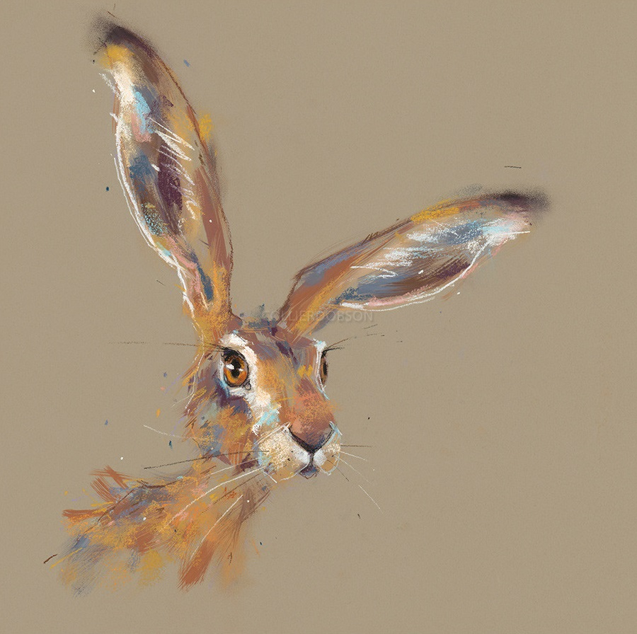 The Lookout by Nicky Litchfield, Animals | Rabbit | Hare