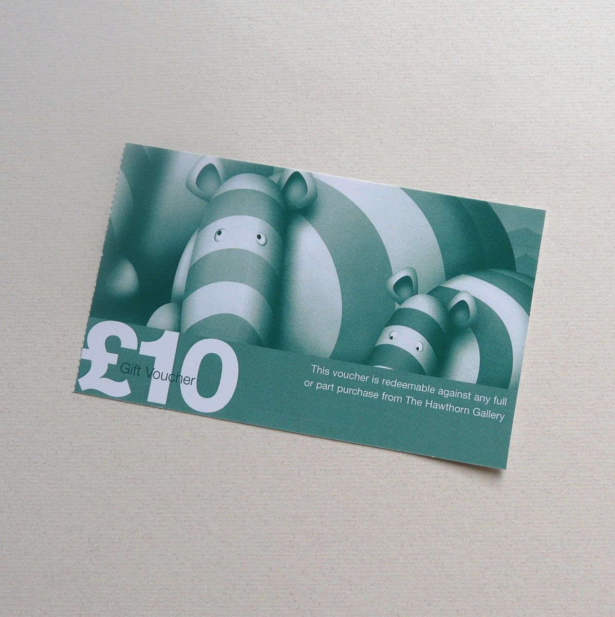 £10 Gift Voucher by The Hawthorn Gallery, Voucher | Gift
