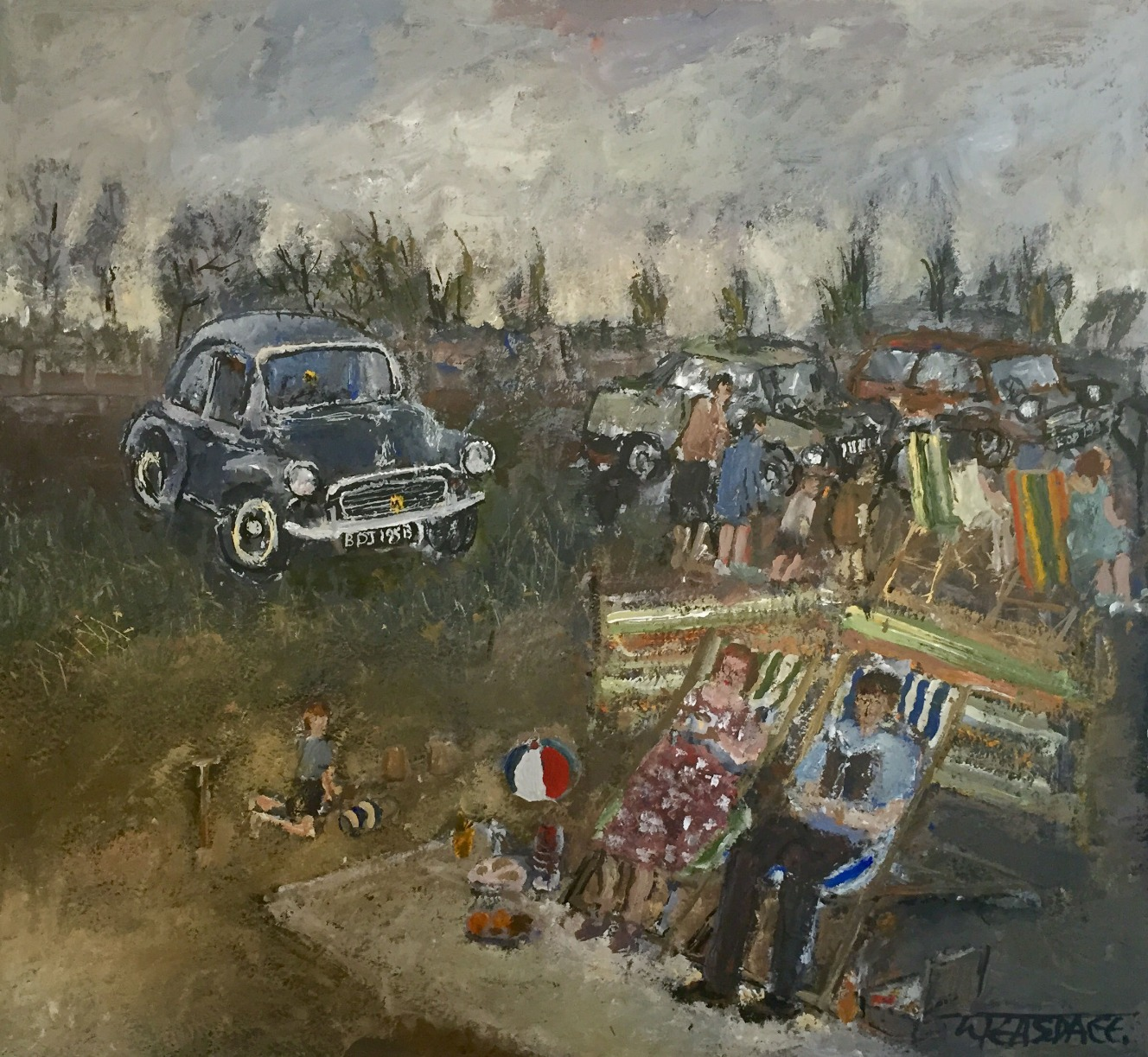 A Family Day Out by Malcolm Teasdale, Family | Nostalgic | Northern
