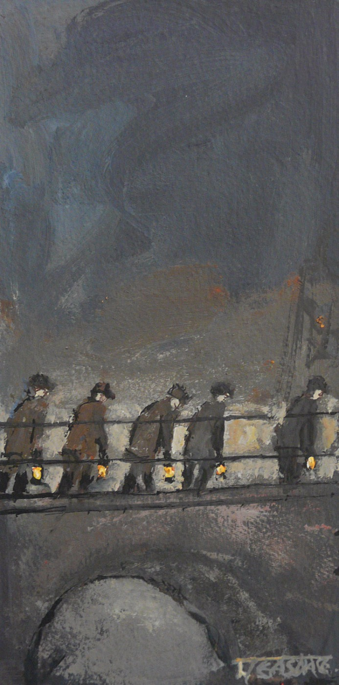 Heading to the Gantry by Malcolm Teasdale, Mining | Northern | Nostalgic