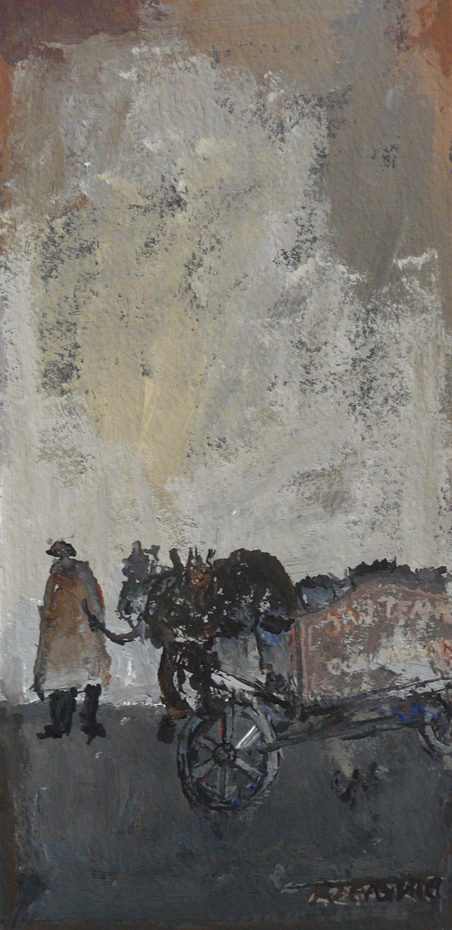 Coal Man by Malcolm Teasdale, Animals | Mining | Northern | Nostalgic
