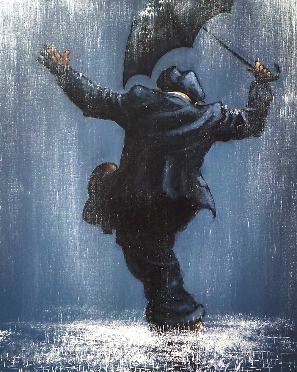 Singing in the Rain by Alexander Millar, Charity | Gadgie | Rare | Northern | Nostalgic | Film