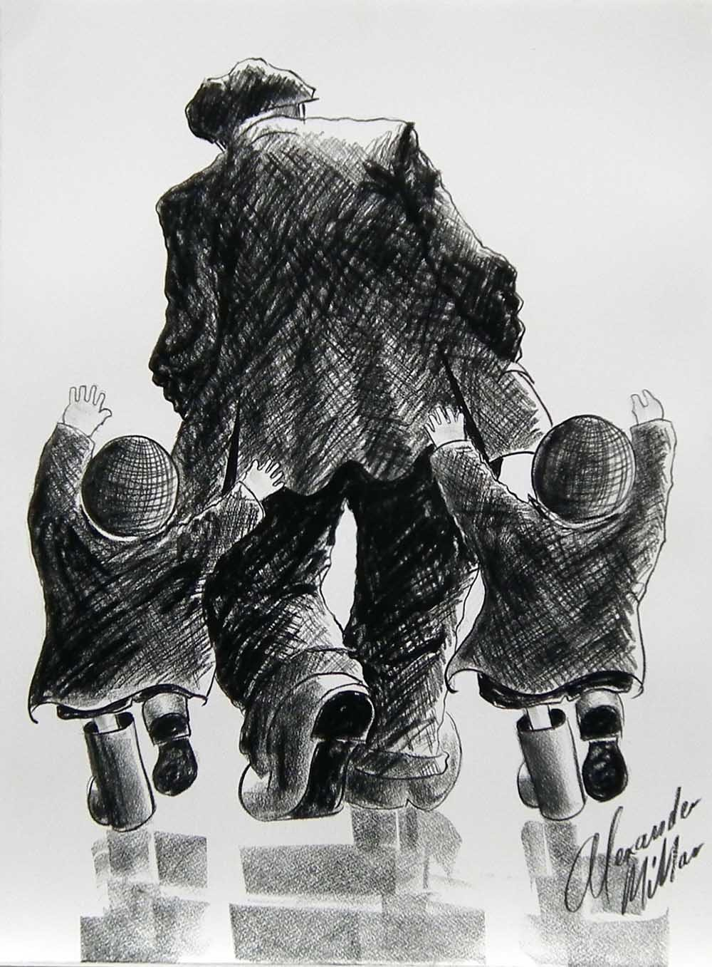 Just so excited by Alexander Millar, Northern | Nostalgic | Children | Family | Gadgie