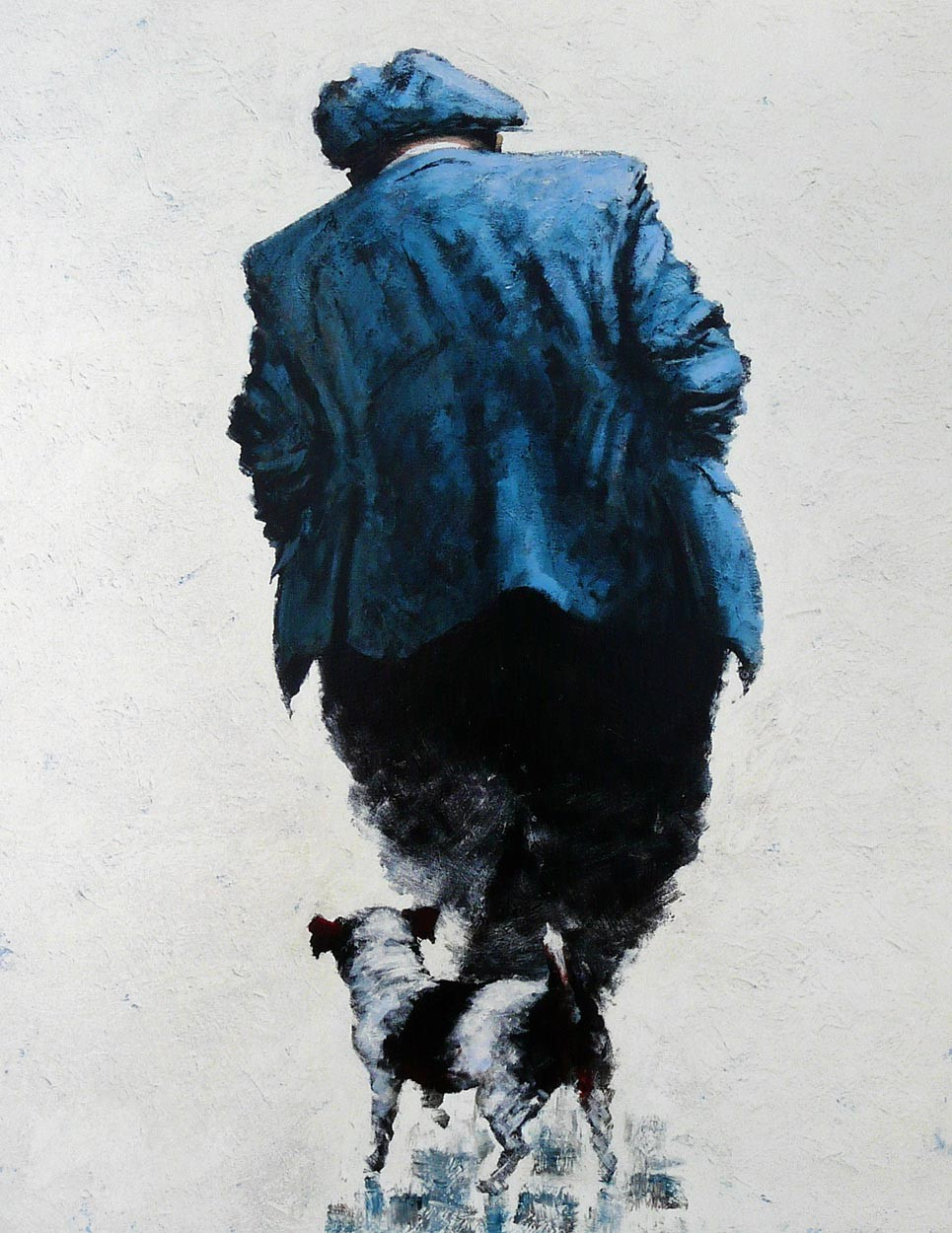 One Man and his Dog by Alexander Millar, Northern | Nostalgic | Gadgie | Dog