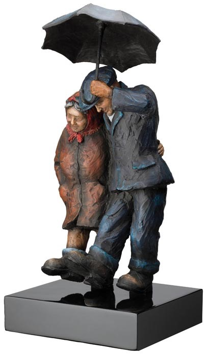 Together Forever by Alexander Millar, Sculpture | Nostalgic | Northern | Couple | Rare | Customer Sale