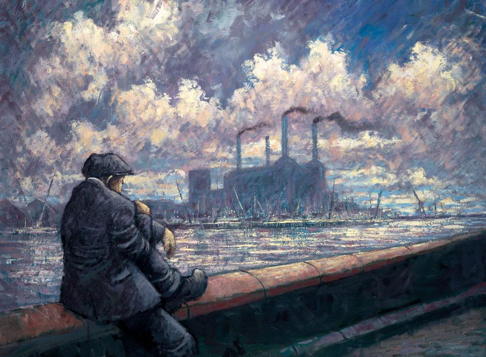 Send in the Clouds by Alexander Millar, Nostalgic | Gadgie | Water | Rare | London