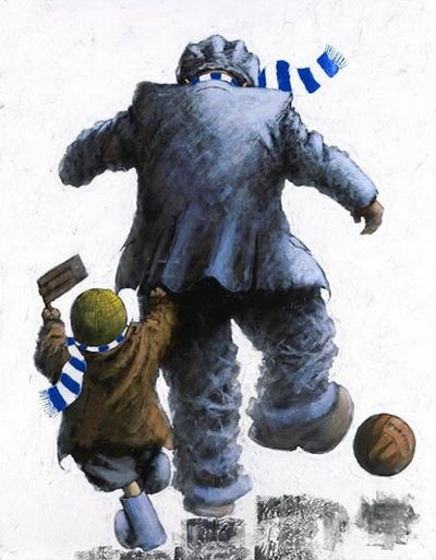 Come on You Blues by Alexander Millar, Children | Family | Football | Gadgie | Nostalgic