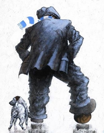 Up the City by Alexander Millar, Nostalgic | Northern | Gadgie | Football