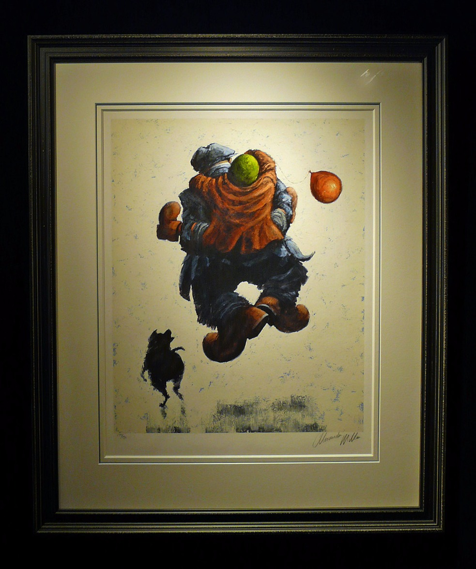 Over the Moon by Alexander Millar, Romance | Love | Gadgie | Nostalgic | Family