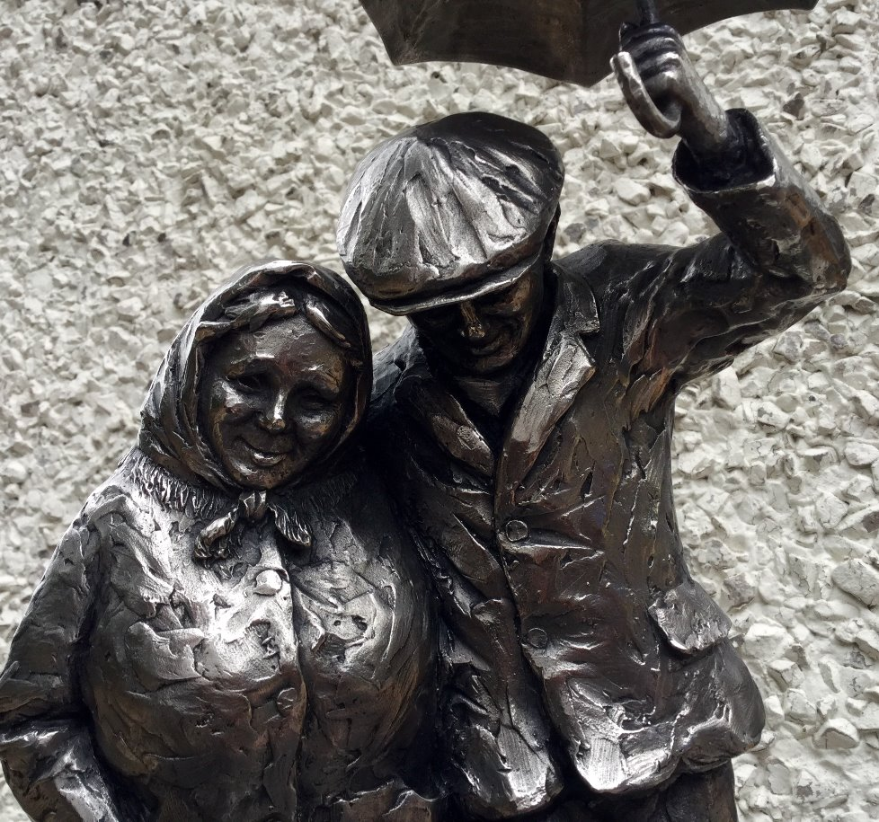 Together Forever by Alexander Millar, Couple | Romance | Love | Gadgie | Sculpture