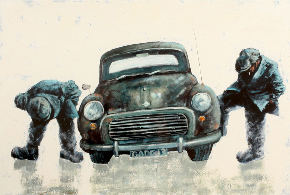 Scrapheap Challenge by Alexander Millar, Rare | Gadgie | Northern | Pub | Customer Sale